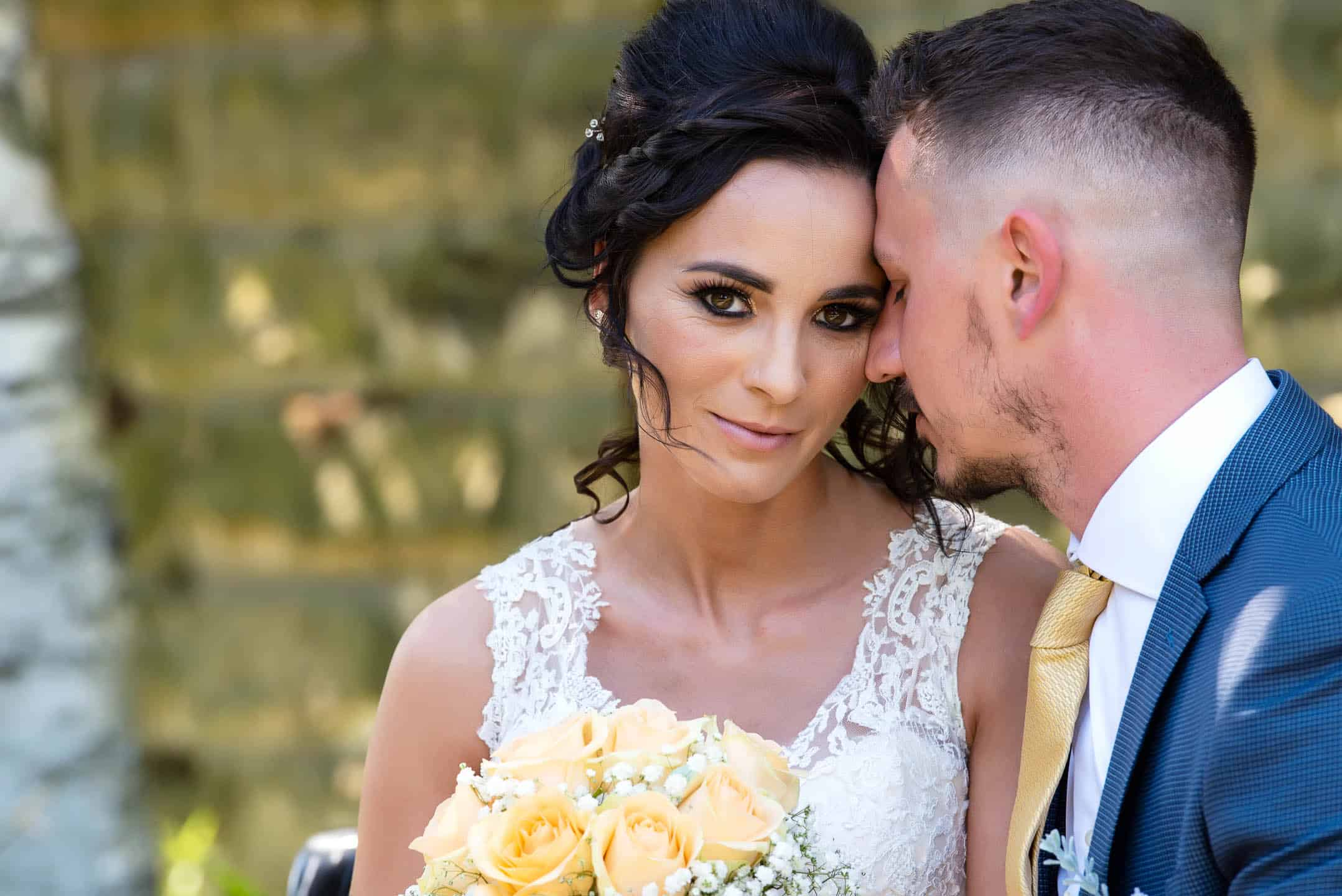 Manchester Wedding Photography by Alin Turcanu photographer wedding in Castleford intimate moment