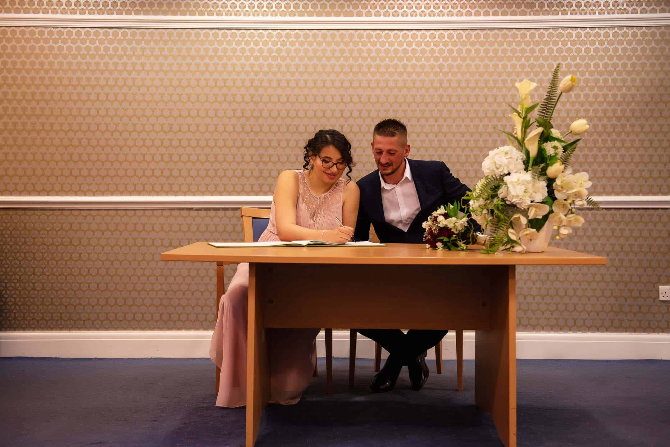 Manchester Wedding Photography by Alin Turcanu ceremony