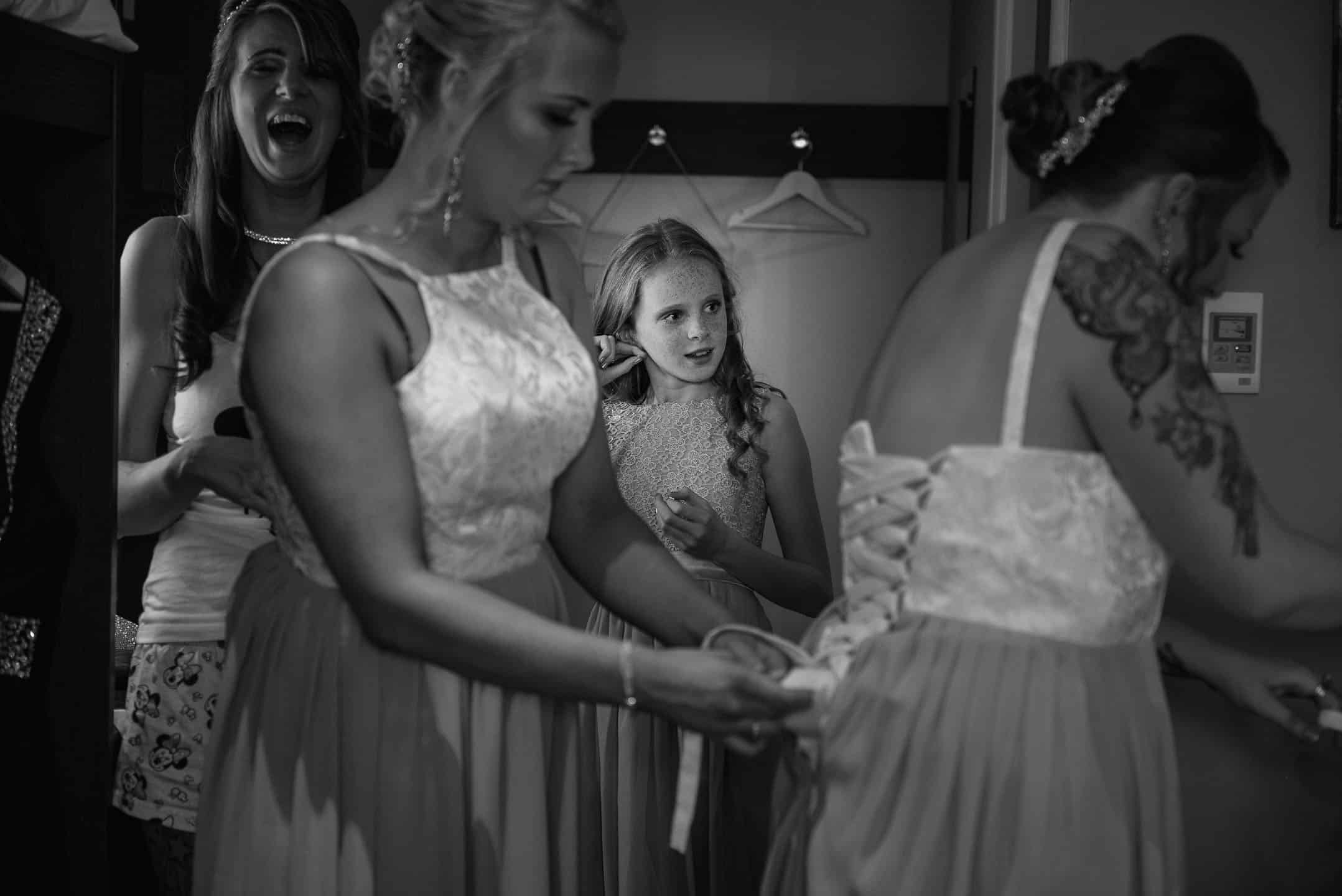 Manchester Wedding Photographer in Wigan bridal preparations