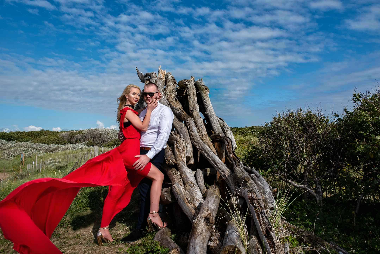 Manchester Wedding Photographer pre-wedding beach