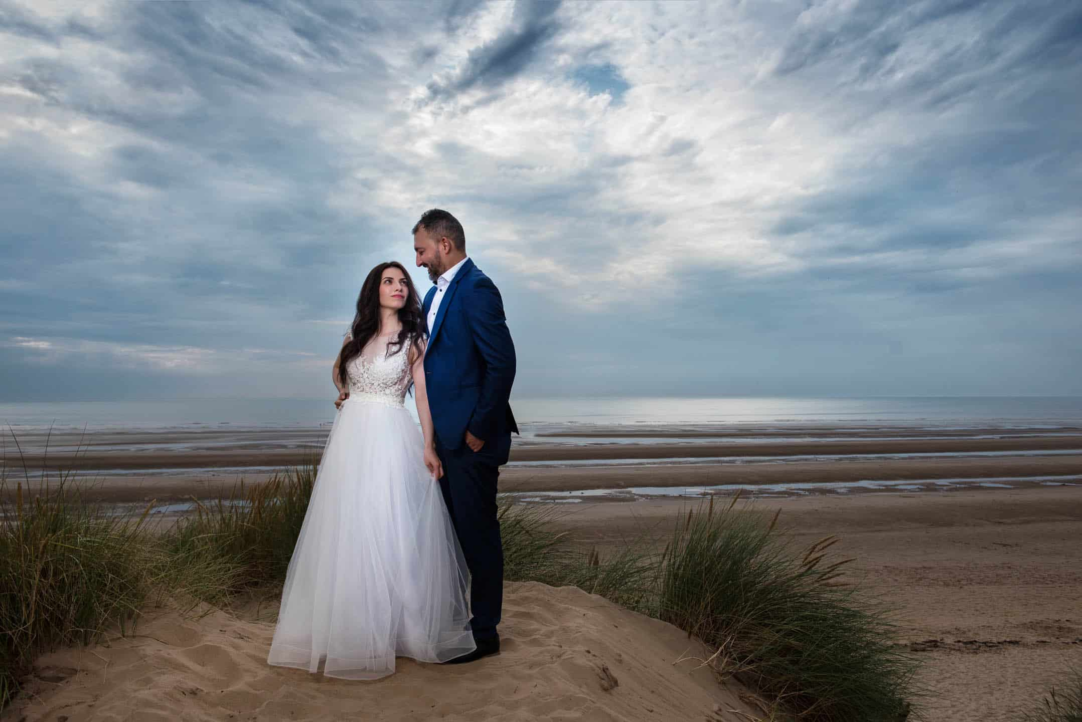 Manchester Wedding Photography at Formby