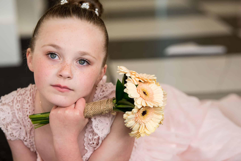 Manchester Wedding Photography amazing flower girl