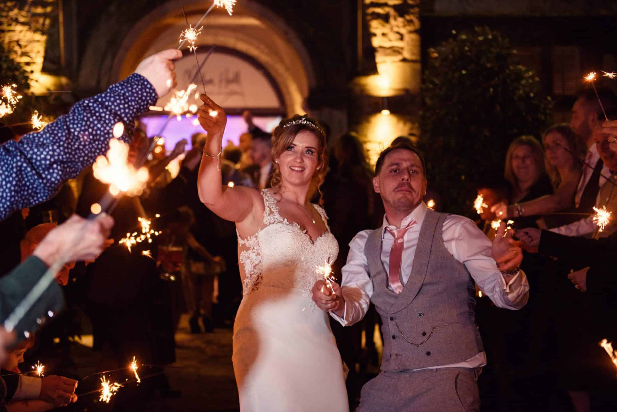 sparklers exit
